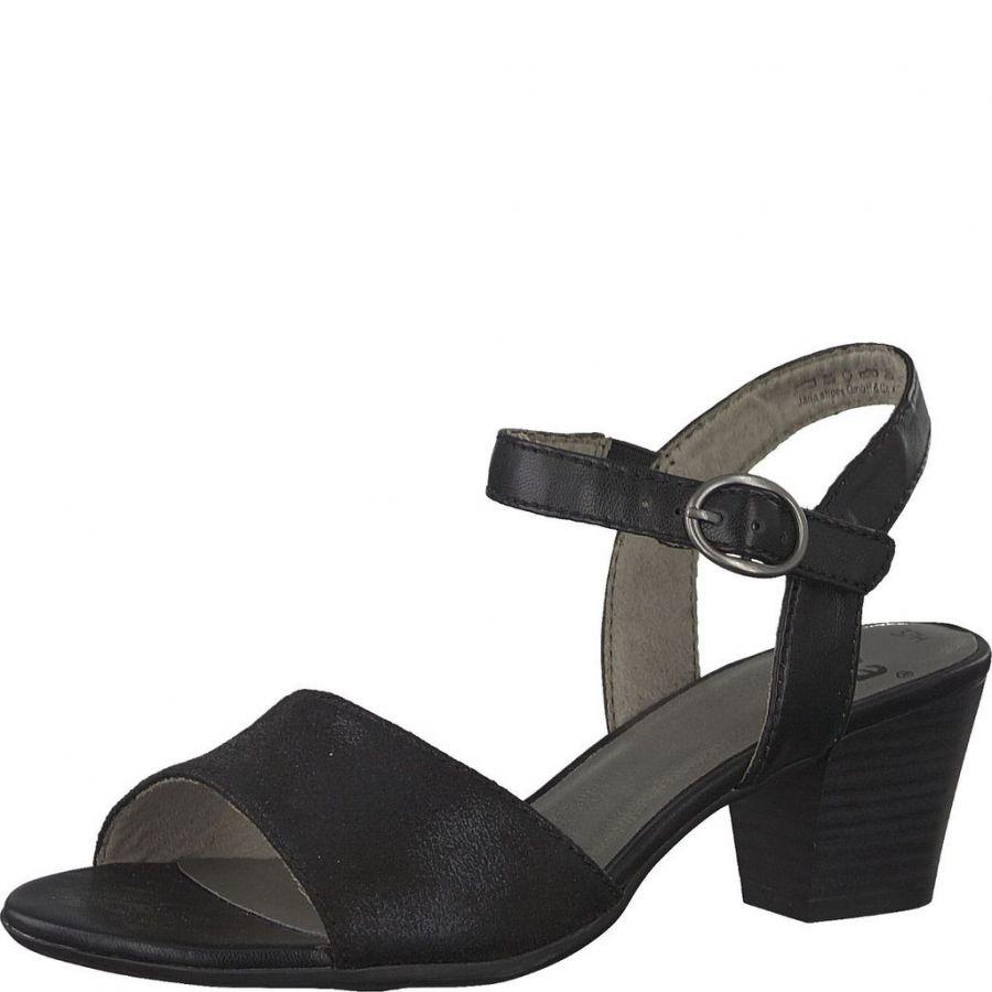 Jana Dam Skor Jana Sandaler & sandaletter black svart