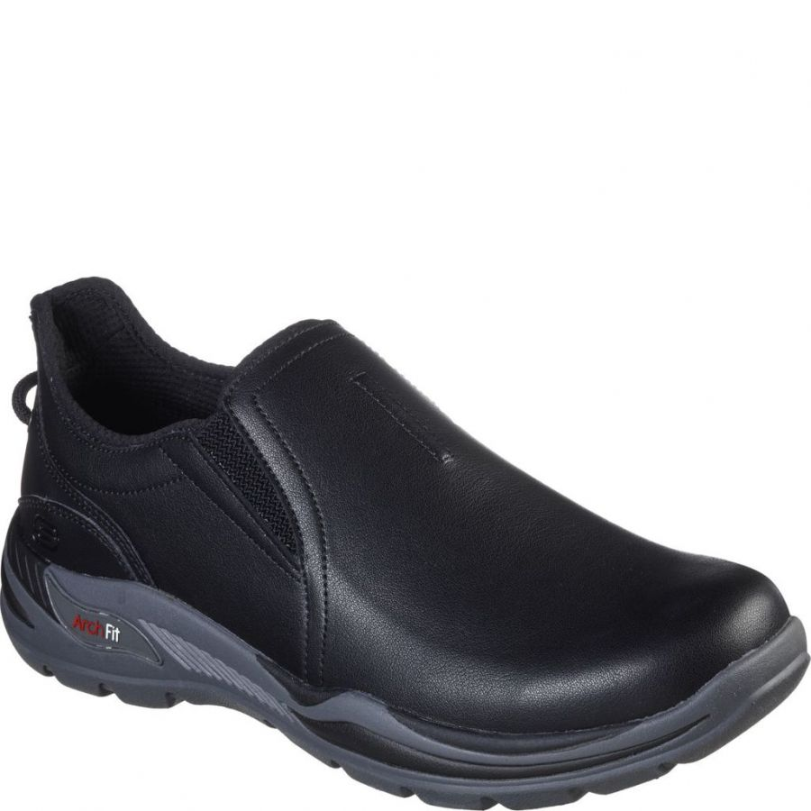 Slip-on från Skechers - 204182-BLK