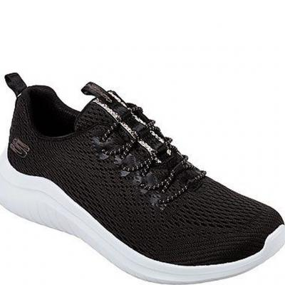 Sneakers Skechers. 13350-BKW Womens Ultra Flex - Lite Groove från Skechers